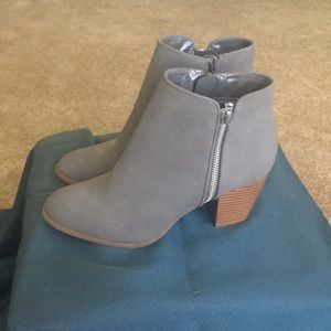 Style & Co Gray Booties